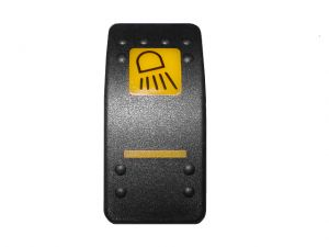 Cover front work lights switch decal 3CX 4CX JCB